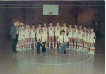 1969-70 Boys Basketball team  Coaches Postel and Abernathy  Manager, Randy White, Mike Hughes, Tommy Daniel, Billy Littl
